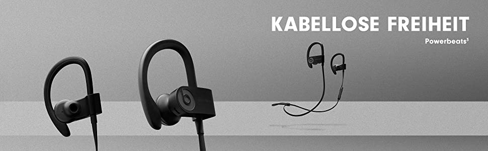 beats by dr dre powerbeats 3 wireless kopfh rer amazon. Black Bedroom Furniture Sets. Home Design Ideas