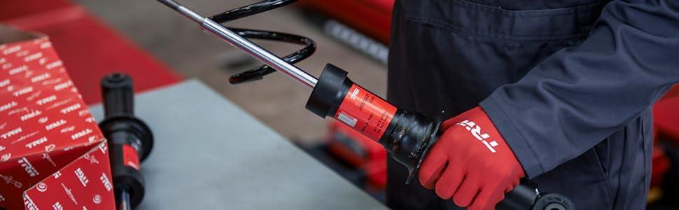 TRW, ride control, shock, shock absorber, strut, suspension
