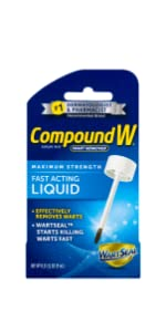 Compound W Fast Acting Wart Removal Liquid