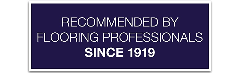 floor care recommended by flooring professionals since 1919