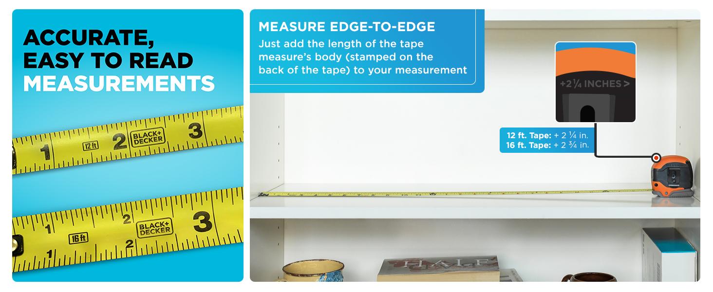 Measure Edge to Edge