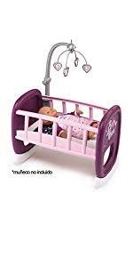 Amazon.es: Smoby- Trolley para muñecos, Color Morado (220346 ...