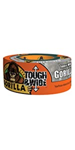 Gorilla Silver Tough amp; Wide Duct Tape