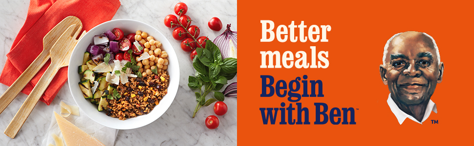 Better Meals, Begin with Ben, Uncle Ben's, Convenient, Quick, Rice