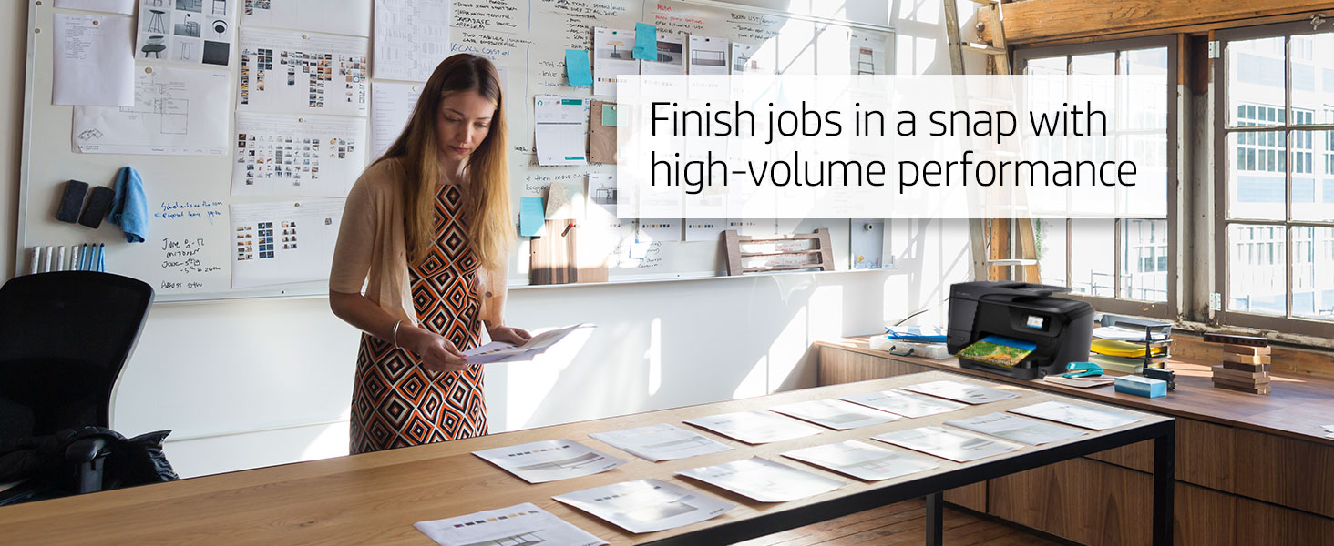 Finish jobs in a snap with high-volume performance