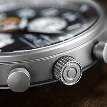 Hawker Hurricane Panda Edition Aviator Men's Watch