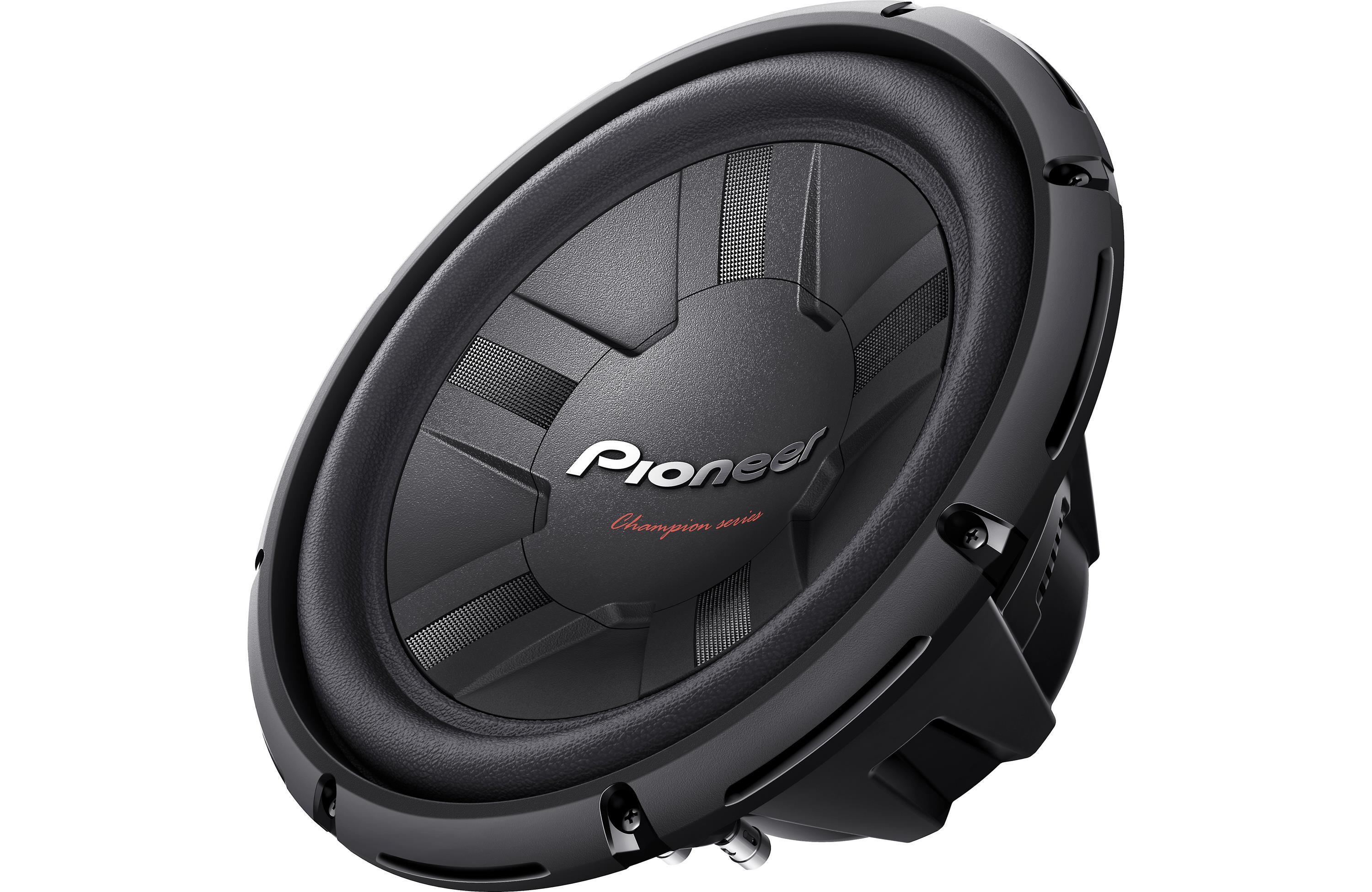 "20 Inch Subwoofer: Amazon.com: Pioneer TSW311D4 Champion Series 12"" Subwoofer"