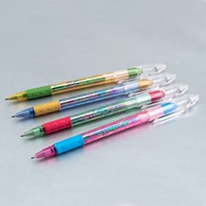 family, pentel, krazy, pop, gel, pen, sparkle, milky