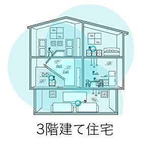 3階建住宅