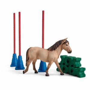 schleich pony agility