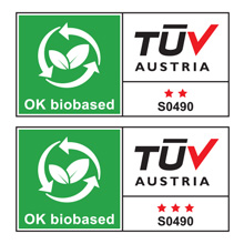 ok biobased material natural tuv austria ab vincotte ecological diapers independent certification