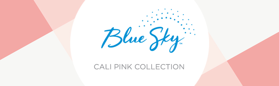 blue sky, cali pink collection banner, planners, calendars, academic, weekly, monthly, 2020-2021