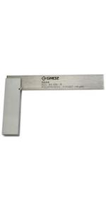 Groz 4-inch Machinist Steel Square
