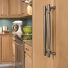 nickel appliance pulls,drawer pulls,furniture pulls,satin nickel appliance pulls