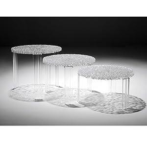 Kartell Tavolini Salotto.Kartell T Table Tavolino Beige 50 X 50 X 36 Cm