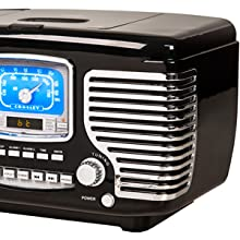tabletop radio with stereo speakers