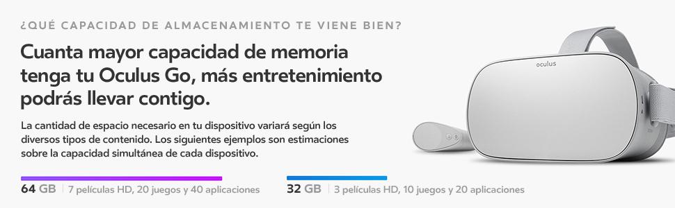 Oculus - Go Auriculares Independientes De Realidad Virtual, 64 Gb: Amazon.es: Videojuegos