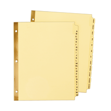 8 1//2 x 5 1//2 072782113131 12-Tab Avery® Preprinted Tab Dividers