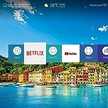 Hisense H40B5600, Smart TV Full HD, 2 HDMI, 2 USB, Salida Óptica y de Auriculares, WiFi N, Audio DBX, Procesador Quad Core, VIDAA U 2.5, 802.11bgn,2.4G/Ethernet RJ-45/HDMI/USB, 40