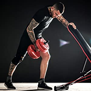 20kg dumbbells set for men women ladies vinyl cast iron adjustable lifting hand weights lifting set