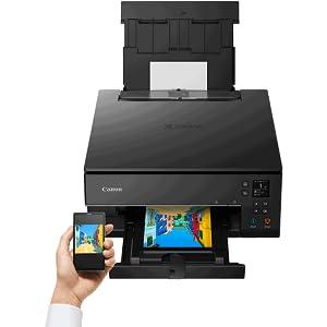 Impresora Multifuncional Canon PIXMA TS6351 Blanca Wifi de inyección de tinta