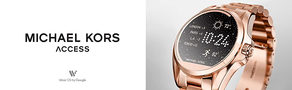 018d67f1746 Amazon.com  Michael Kors Access Women s Smartwatch Bradshaw Rose ...