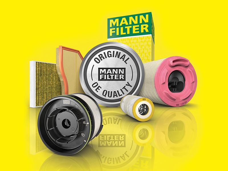 Mann-Filter Filtro Aria C 27 045 per BMW