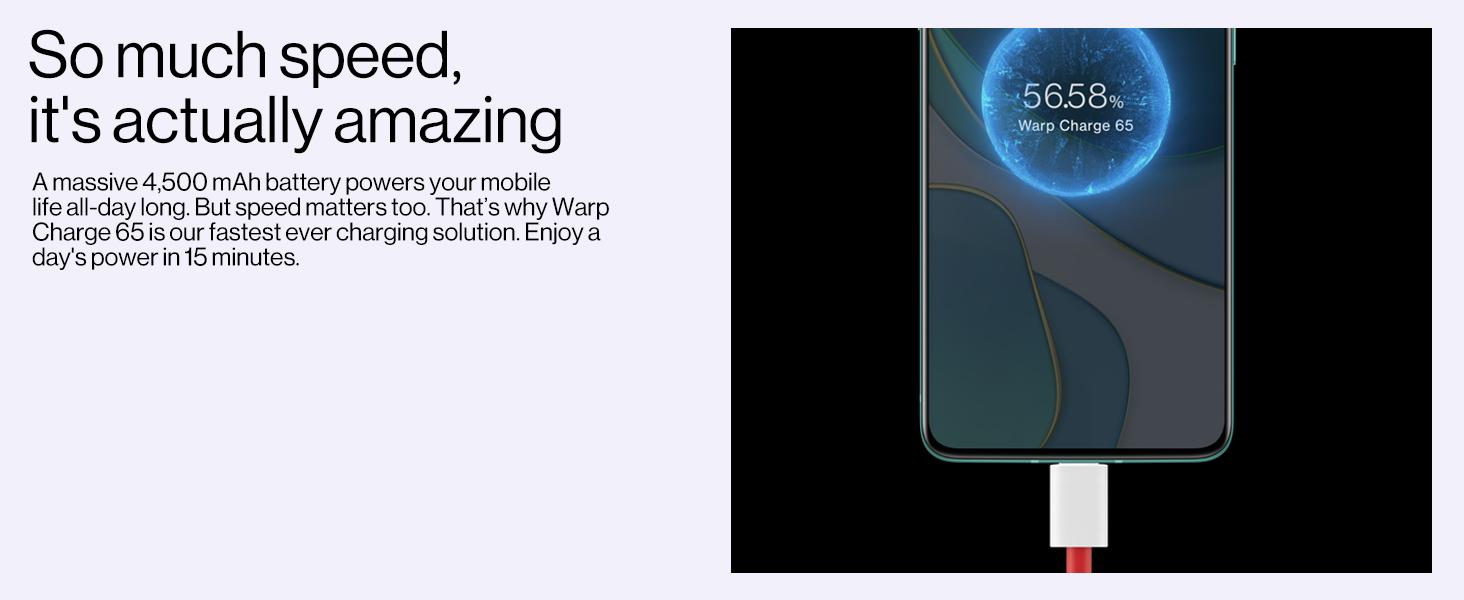 65W warp charge