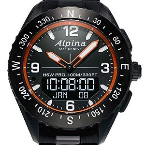 Alpina AlpinerX Swiss Quartz Watch, Horological Smart Watch, Sport Watch, Stainless Steel