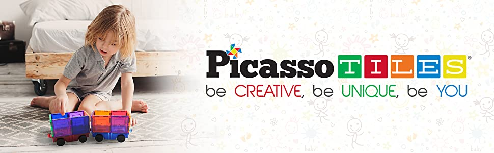 PicassoTiles be creative be unique be you