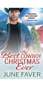 The Best Cowboy Christmas Ever by June Faver