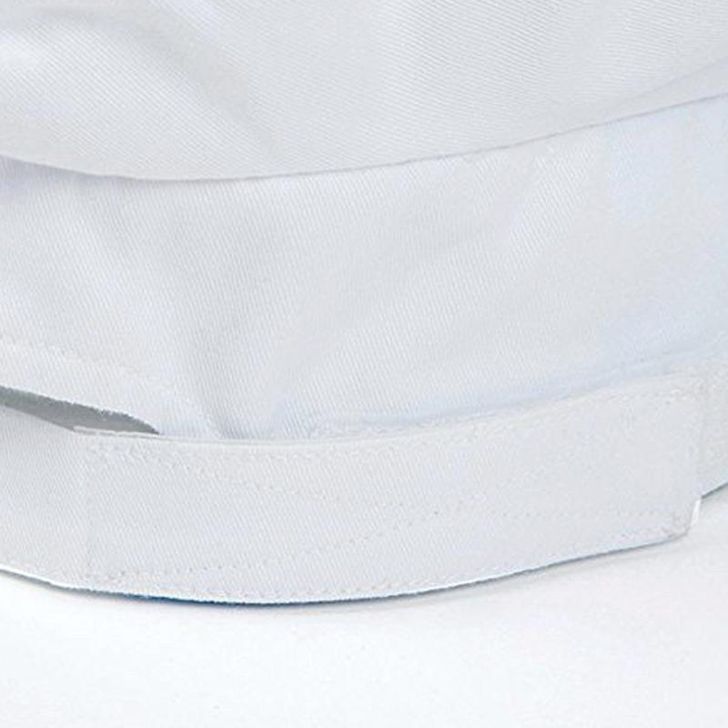 96322ded1 Mercer Culinary Non-Woven Oval Chef Toque, 8 1/2 Inch, White, 10 Pack