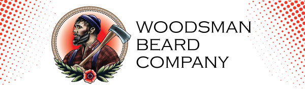 woodsman beard company logo