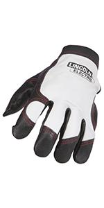 Metalworking gloves; premium leather gloves;