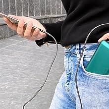 stylish usb cable charging