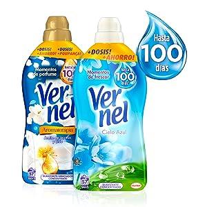 Vernel Aromaterapia Suavizante Concentrado Azul 1,31L