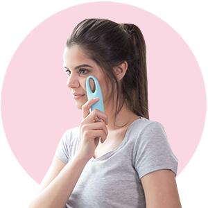 Oogmassageapparaat, anti-aging oogmassage
