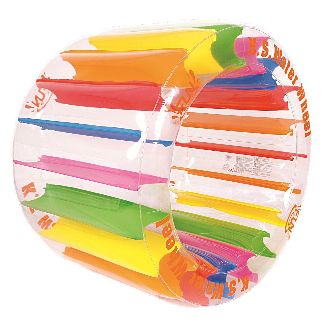 jilong kid ster wheel 125 cm wasser laufrad hamsterrad wasserspielzeug wasser walze wasserspa. Black Bedroom Furniture Sets. Home Design Ideas