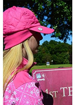 789feed0 Surprizeshop Women's Adjustable Quilted Winter Golf Cap, Purple, One ...