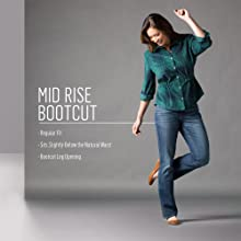 Midrise Bootcut