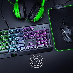 Razer BlackWidow 2019 - Teclado Mecánico para Juegos de Tamaño Completo, con Interruptores Mecánicos Verdes Razer, Teclas Programables, Gestión de ...