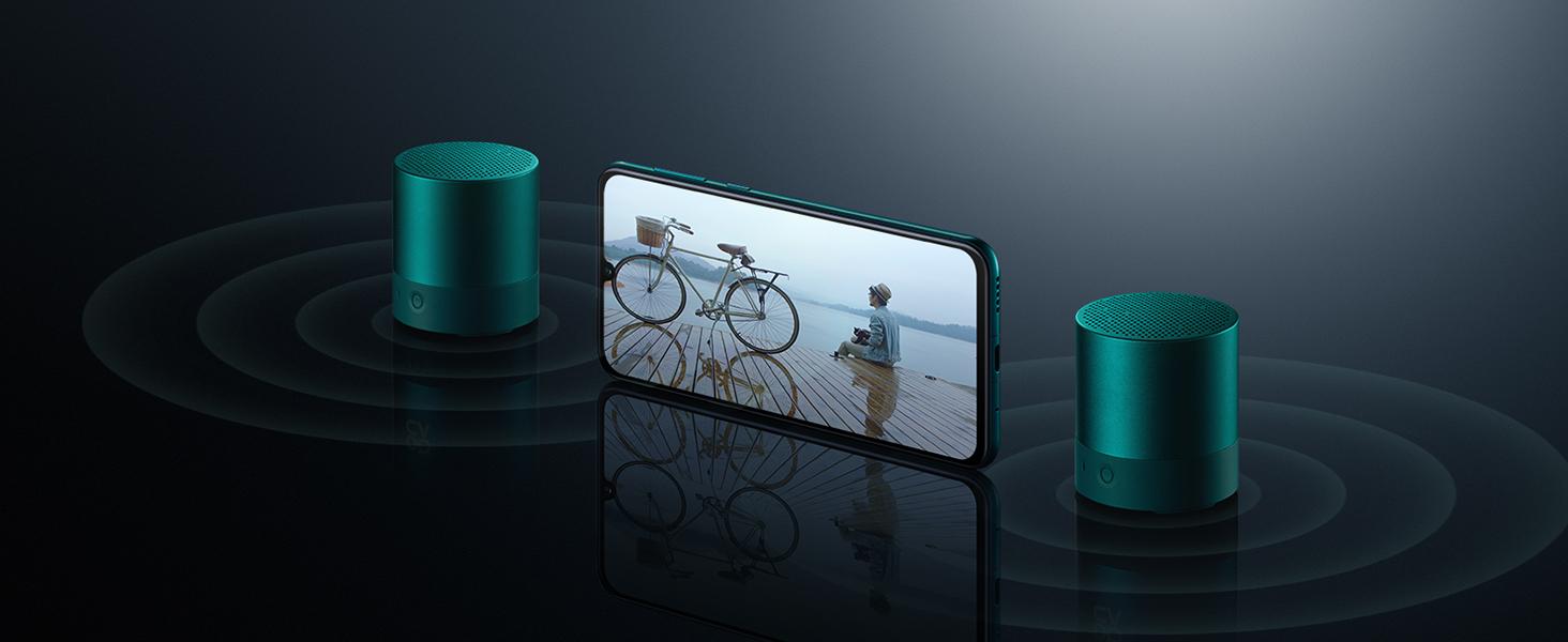 Huawei Mini Altavoz Bluetooth CM510, Color Negro: Huawei