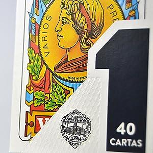 cartas, españolas, naipes, baraja
