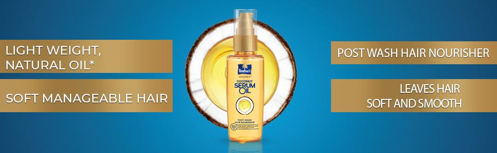 hair nourisher,post wash hair nourisher,light weight serum,serum for soft hair,creme oil serum