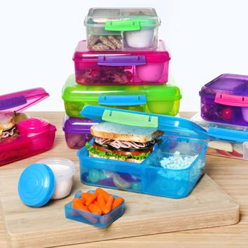 Amazon.com: Sistema To Go Collection Bento Box for Lunch and Food