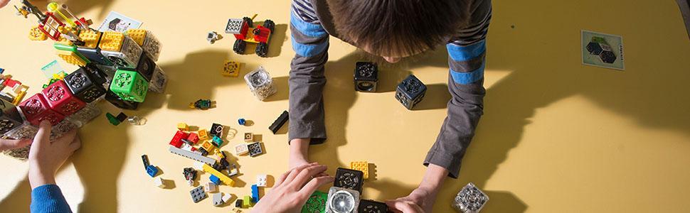 Cubelets, Lego