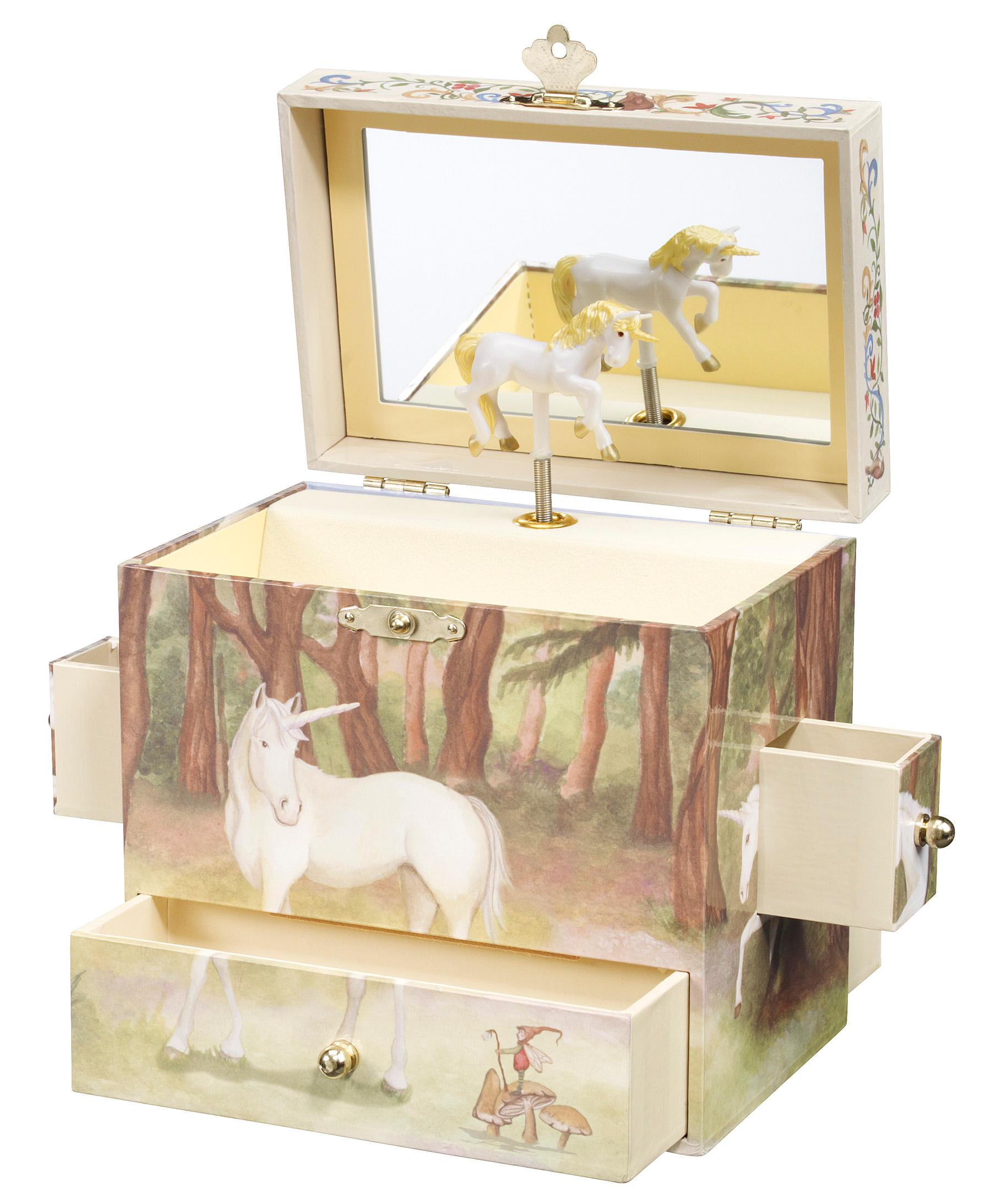 enchantmints unicorn music jewelry box toys