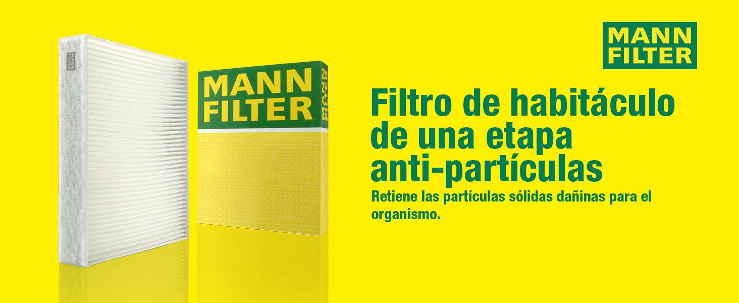 Para autom/óviles MANN-FILTER Original Filtro de Habit/áculo CU 2336