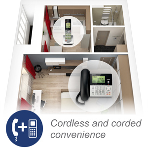 corded and cordless