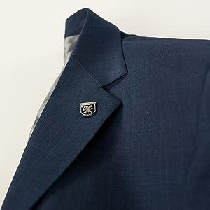 Men's notch lapel stacy adams suit